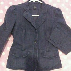 Gap navy blazer/jacket